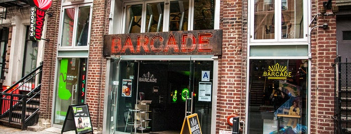 Barcade is one of Near Standard East Village.