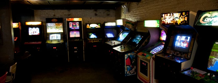 Barcade is one of Date Places.