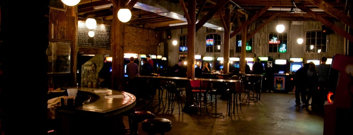 Barcade is one of Margie's Saved Places.