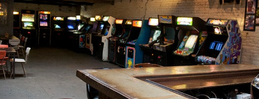 Barcade is one of Esquire's Best Bars in New York, 2013.