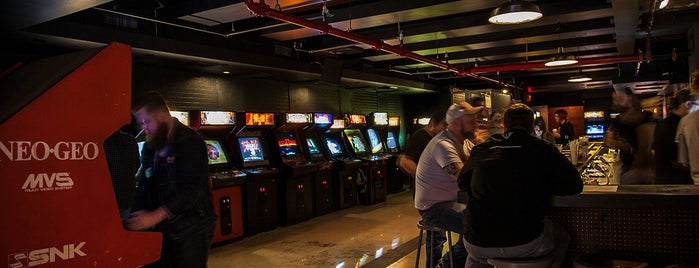 Barcade is one of Notable spots around #IBMStudios.