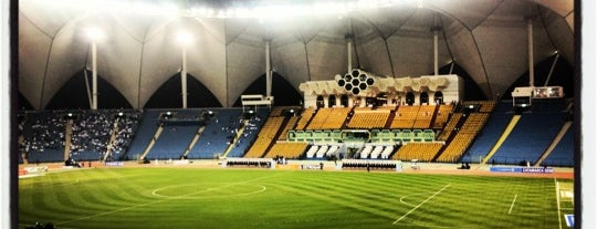 King Fahad Stadium is one of Soccer Stadiums.