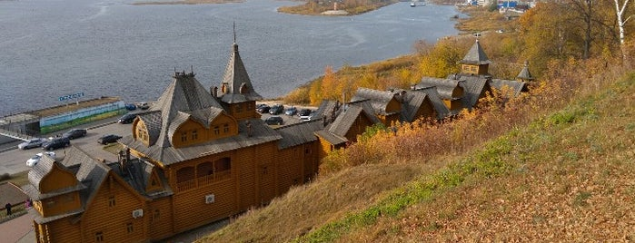 Городец is one of Нижний Новгород.