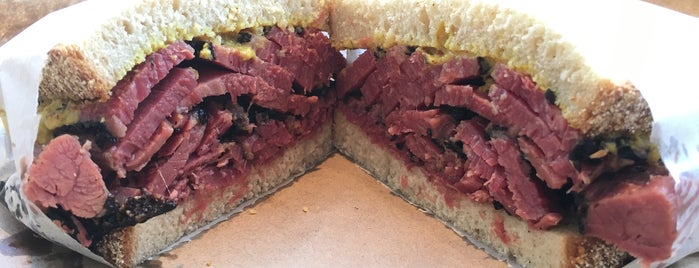 Frankel's Delicatessen is one of Hope St.