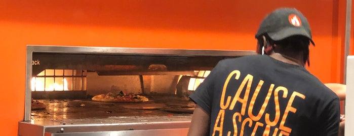Blaze Pizza is one of Locais curtidos por Mei.
