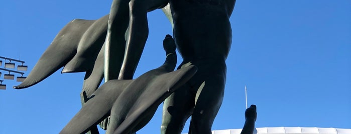 Freedom of the Human Spirit Statue is one of Virtual Tour of Flushing Meadows Corona Park.