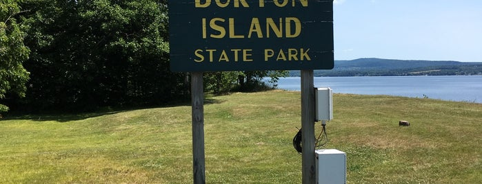 Burton Island State Park is one of St Albans & Burlington.