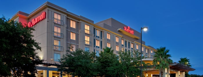Austin Marriott South is one of Tempat yang Disukai Ursula.
