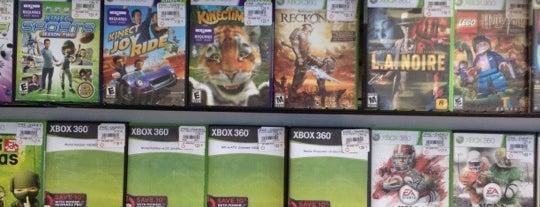 GameStop is one of Lieux sauvegardés par Megan.
