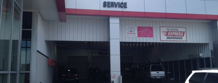 Toyota of New Orleans is one of Increase your New Orleans City iQ.