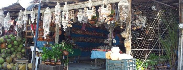Mercado de Artesanias y Cocos is one of август 🐾 님이 좋아한 장소.