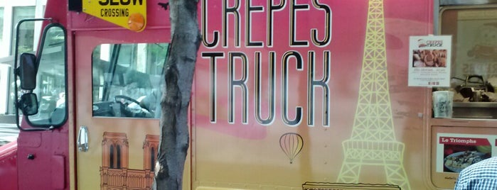 The Crepes Truck is one of New York's Best Food Trucks.
