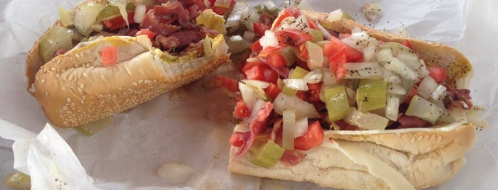 Giamela's Submarine Sandwiches is one of LA Food to try.