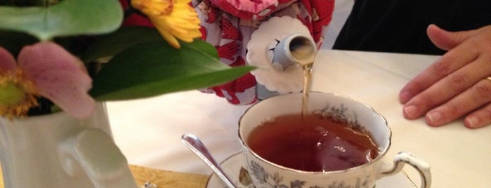 Teaberry's Tea Room is one of NJ Clinton-Bridgewater.