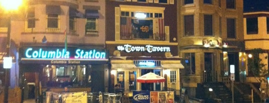 "Town Tavern is one of ""Hail, Columbia, happy land...""."
