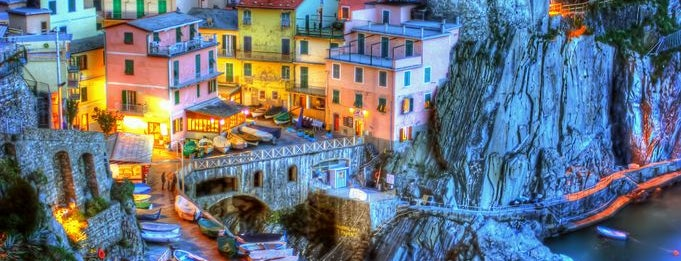 Cinque Terre is one of [To-do] Italy.