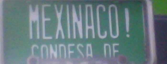 Mexinaco is one of CdMx.
