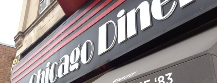 Chicago Diner is one of United Mileage Plus Dining Spots.