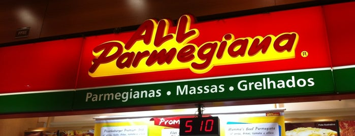All Parmegiana is one of Pedro'nun Beğendiği Mekanlar.
