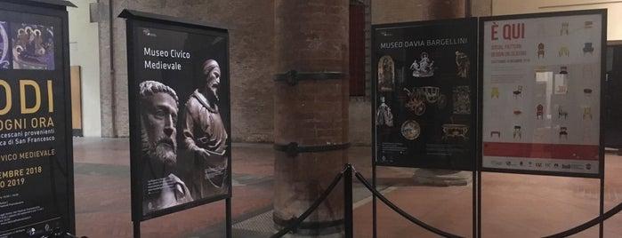 Museo Civico Medievale is one of Leonardo: сохраненные места.