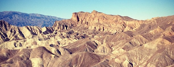 Zabriskie Point is one of Desert Places.