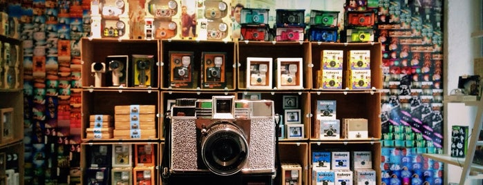 Lomography Gallery Store Barcelona is one of Barcelona Moderna.