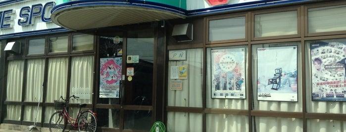 ゲームスポット アップル 魚津 is one of jubeat saucer fulfill設置店舗@北陸三県.