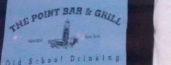 The Point Bar & Grill is one of Diplomático's The Hamptons.