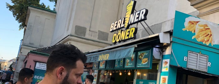 Berliner Döner is one of Vienna.