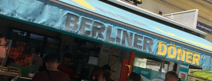 Berliner Döner is one of Vienna, Austria.