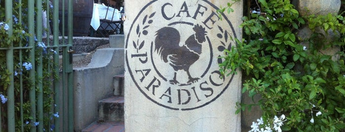Cafe Paradiso is one of cape town.