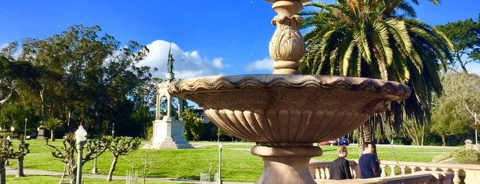 Golden Gate Park is one of Orte, die Natalie gefallen.