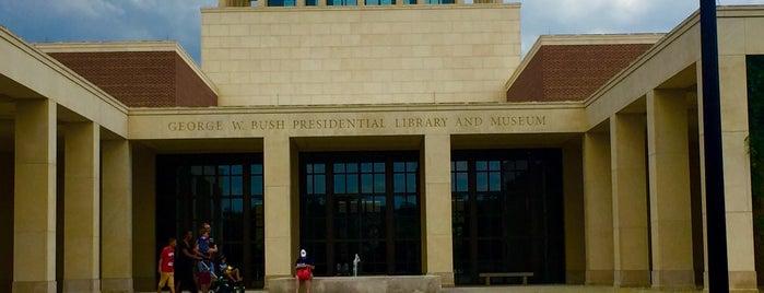George W. Bush Presidential Center is one of Orte, die Natalie gefallen.