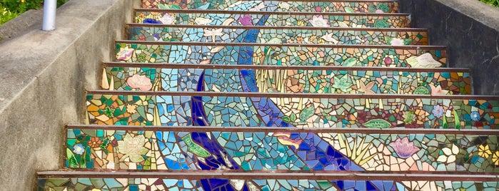 Golden Gate Heights Mosaic Stairway is one of Orte, die Natalie gefallen.