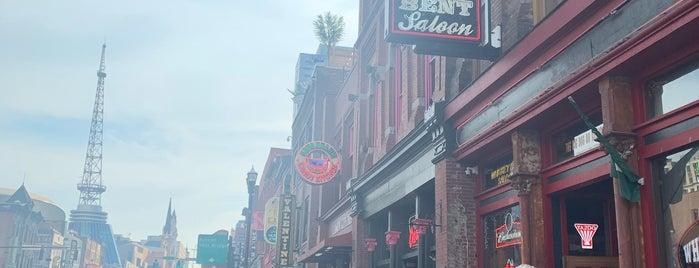 Honky Tonk Row is one of Nashville.