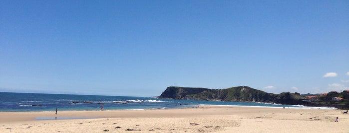 Playa de Comillas is one of Playas de España: Cantabria.