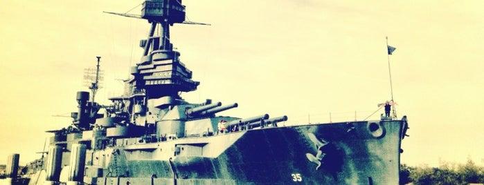 USS Texas (BB-35) is one of Houston.