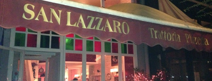 Trattoria San Lazzaro is one of U.