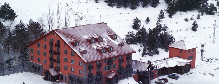 Dedeman Palandöken Ski Lodge is one of Tempat yang Disukai αтαкαη к..