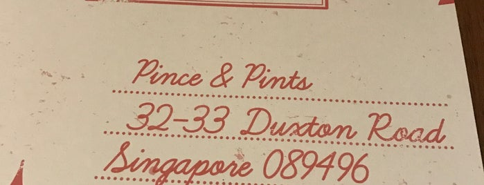 Pince & Pints is one of Eats: Places to check out (Singapore).