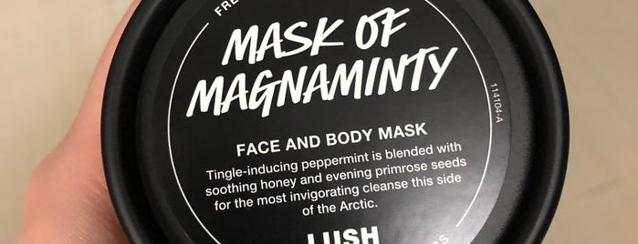 Lush is one of Tracyさんのお気に入りスポット.