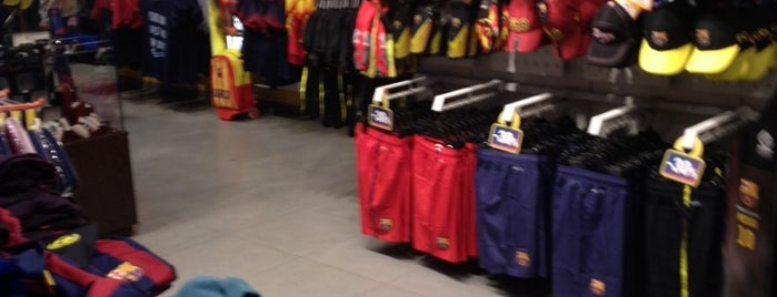 FCBotiga Megastore is one of barcelona.