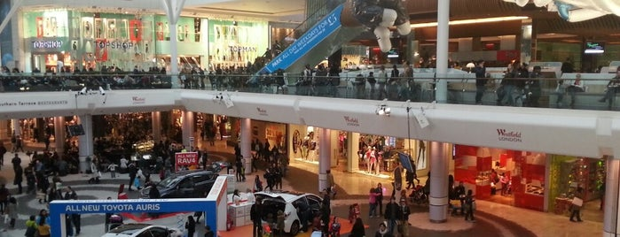 Westfield London is one of London's great locations - Peter's Fav's.