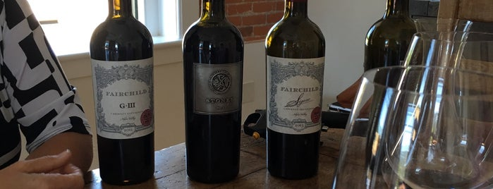 Fairchild Vineyards is one of Wineries & Vineyards.