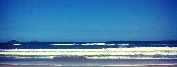 Praia do Ervino is one of Lugares favoritos de Aline Carolina.