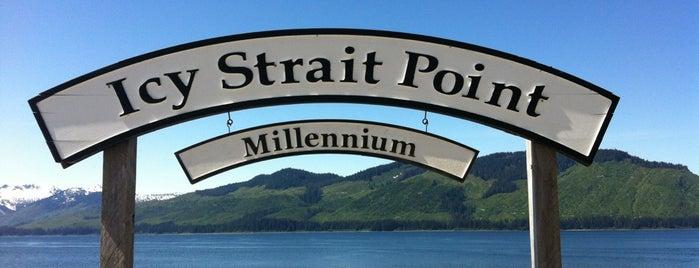 Icy Strait Point is one of Alaska Trip.