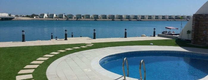 Durrat Al Bahrain Beach is one of Lugares guardados de -.