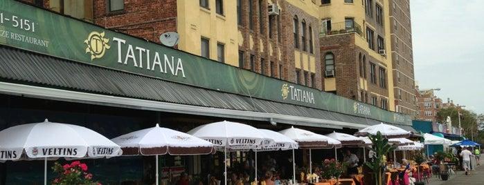 Tatiana Restaurant is one of E New York.