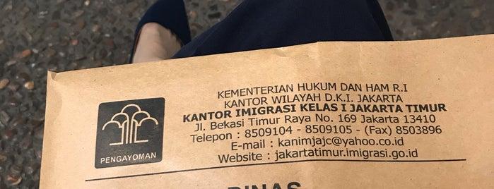 Kantor Imigrasi Kelas I Jakarta Timur is one of Orte, die Philjeuwbens Aditya gefallen.