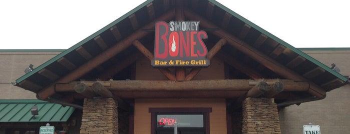 Smokey Bones Bar & Fire Grill is one of Orte, die Dawn gefallen.
